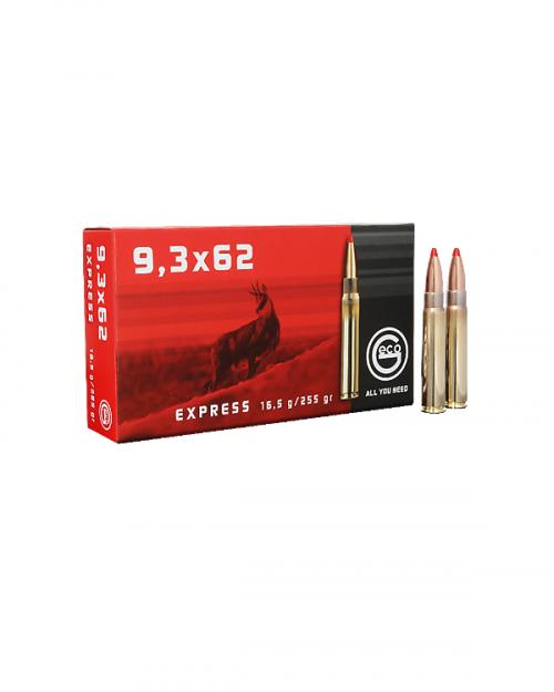 Боеприпас за дълго нарезно оръжие Geco cal. 9,3X62 Express на супер цена от Диана Армс