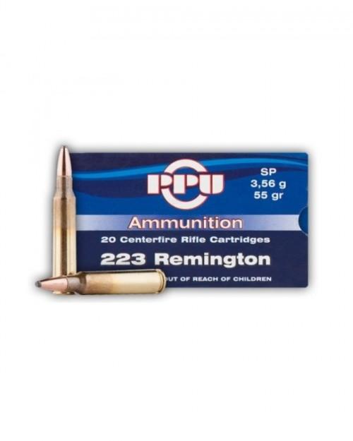 Боеприпас за дълго нарезно оръжие PPU cal.223Rem SP на супер цена от Диана Армс