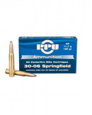 Боеприпас за дълго нарезно оръжие PPU cal. 3006
