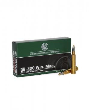 Боеприпас за дълго нарезно оръжие RWS 300 Win. Magnum