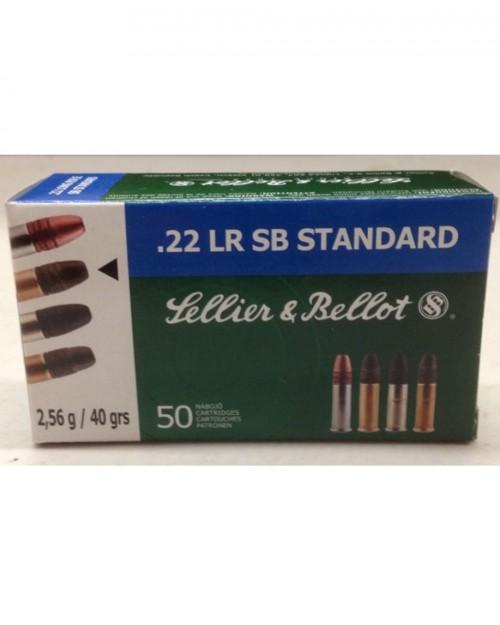 Боеприпас за дълго нарезно оръжие Sellier Bellot cal. 22LR. SP на супер цена от Диана Армс