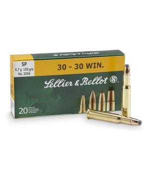 Боеприпас за дълго нарезно оръжие Sellier Bellot cal. 30-30Win SP