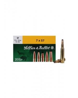 Боеприпас за дълго нарезно оръжие Sellier Bellot cal. 7X57R SP