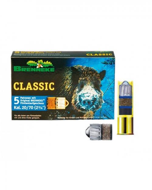Боеприпас за гладкоцевно оръжие Breneke Classic 24g cal.20/70 на супер цена от Диана Армс