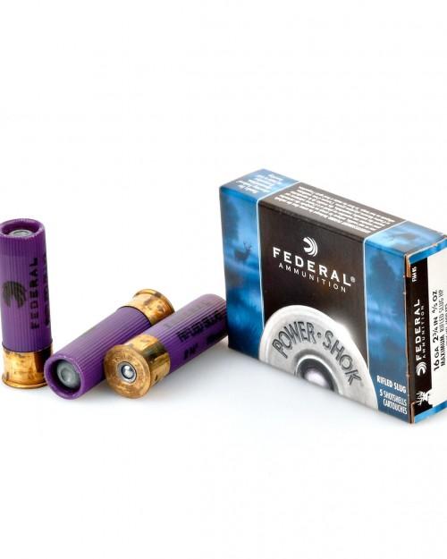 Боеприпас за гладкоцевно оръжие Federal Rifled Slug cal.16/70 на супер цена от Диана Армс