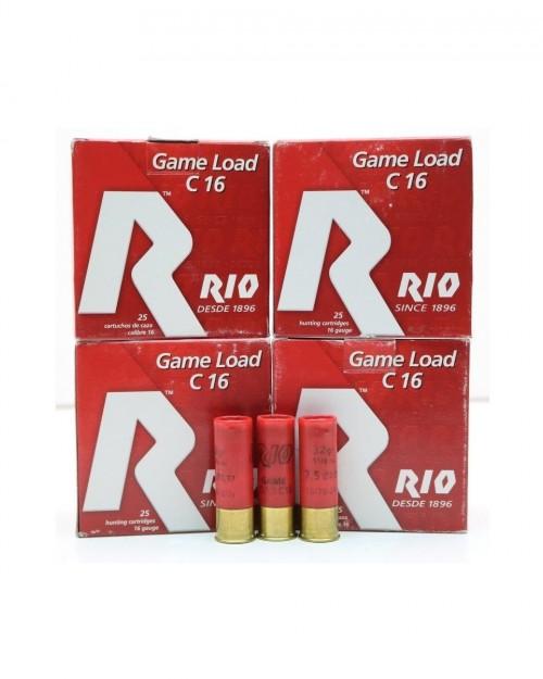 Боеприпас за гладкоцевно оръжие RIO 16/70 28gr на супер цена от Диана Армс