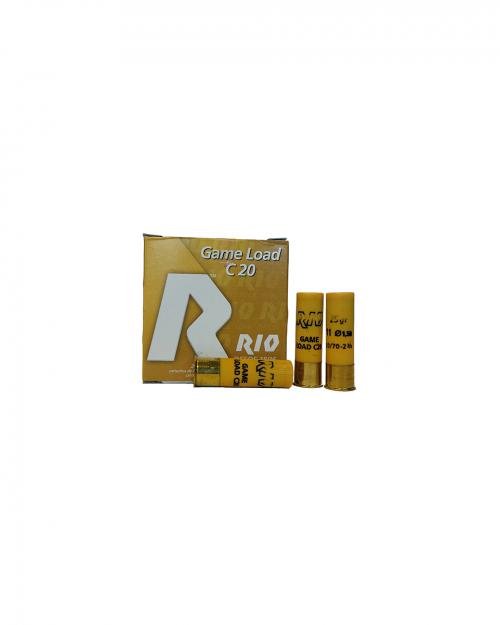 Боеприпас за гладкоцевно оръжие RIO cal.20/70 на супер цена от Диана Армс