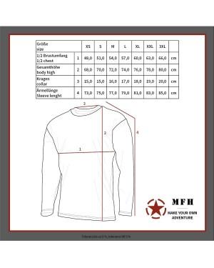 Термобельо MFH 11403B блуза