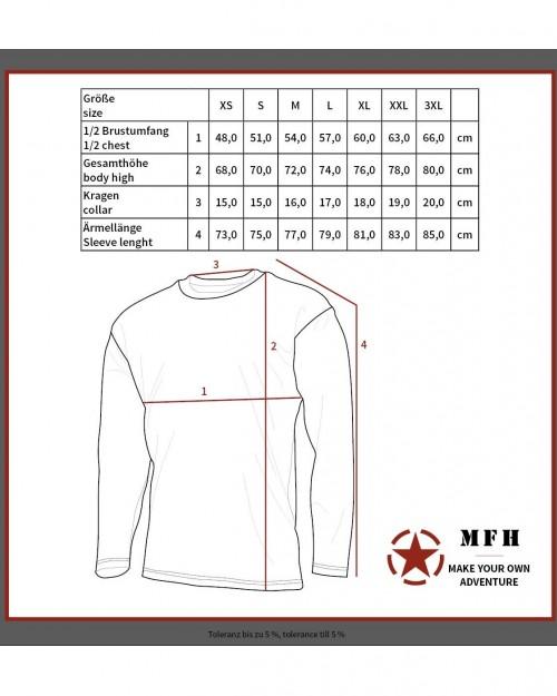 Термобельо MFH 11403B блуза на супер цена от Диана Армс